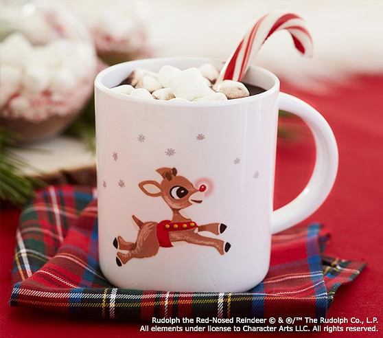 Rudolph The Red Nosed Reindeer 174 Melamine Mug Pottery