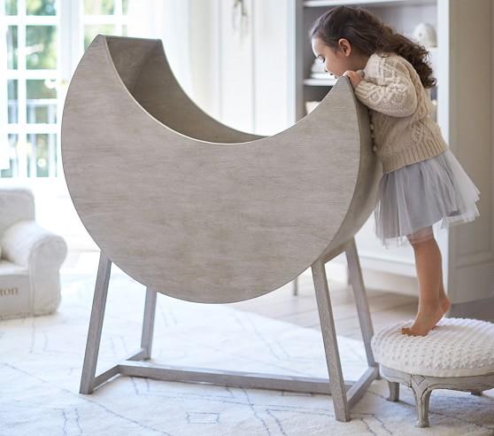 Moon Bassinet & Mattress Pad Set