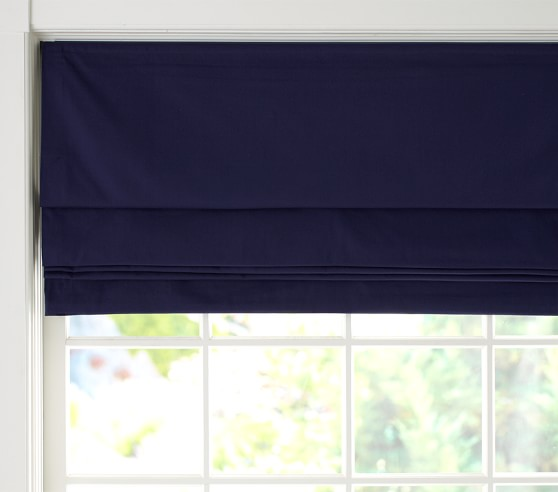 Twill blackout cordless roman shade pottery barn kids for Window scrollto