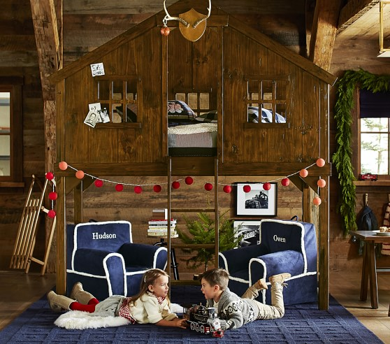 Treehouse Loft Bed Pottery Barn Kids