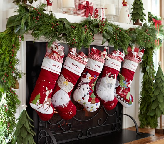 Pottery Barn Kids Invisible Ink: Classic Quilted Stocking Collection