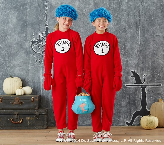 Baby Dr Seuss S Thing 1 And Thing 2 Baby Costume