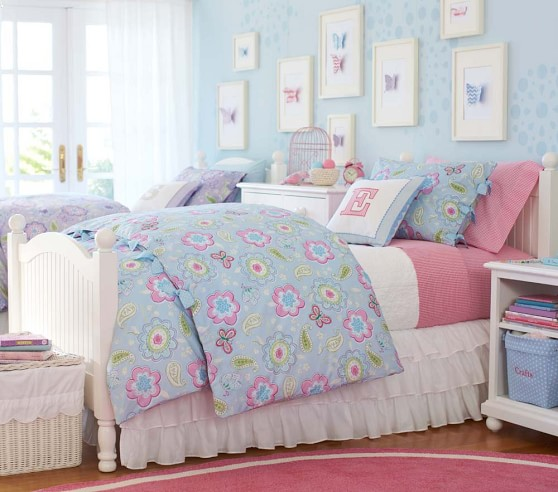 Samantha duvet cover pottery barn kids for Pottery barn kids rooms