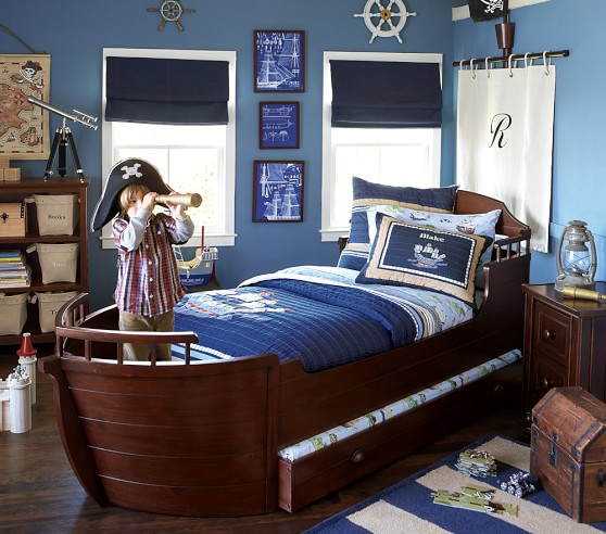Pirate Quilted Bedding Pottery Barn Kids