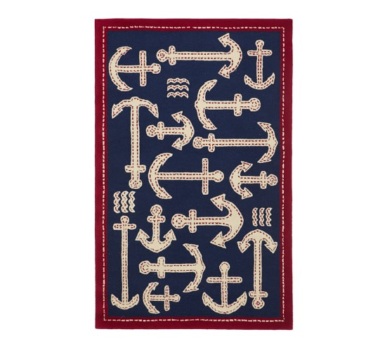 Anchor Rugs: Pottery Barn Kids