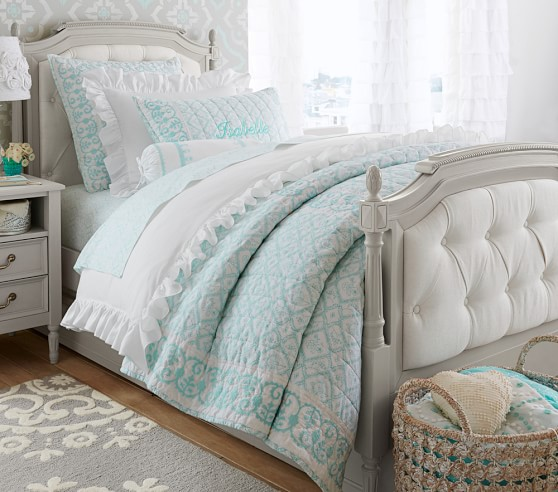 Blythe tufted bedroom set pottery barn kids for Bedroom furniture pottery barn