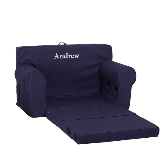 Navy Fold Out Anywhere Lounger