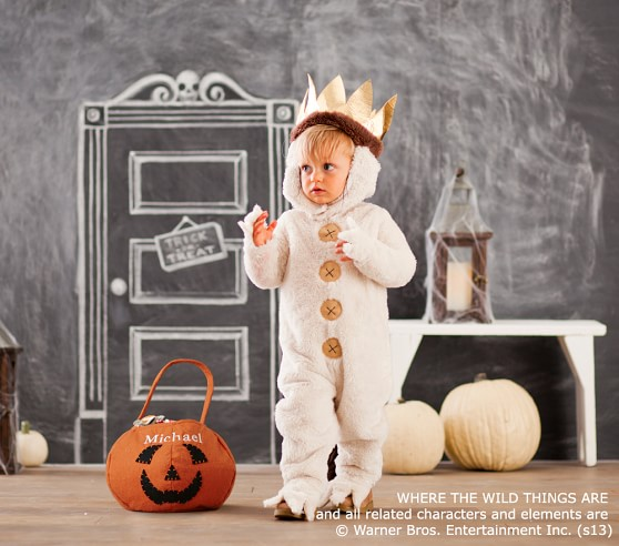 where the wild things are max costume pottery barn kids. Black Bedroom Furniture Sets. Home Design Ideas