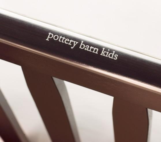 Larkin Fixed Gate Sleigh Crib Pottery Barn Kids