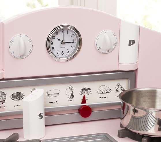 Pink Retro Kitchen Collection Pottery Barn Kids