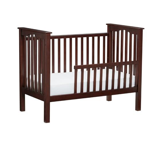 kendall toddler bed conversion kit pottery barn kids. Black Bedroom Furniture Sets. Home Design Ideas