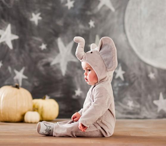 Baby Elephant Costume Pottery Barn Kids