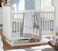 Tobin Nursery Quilt Bedding Set, Toddler Quilt, Crib Skirt & Crib Fitted Sheet