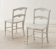 Finley Chair Set of 2, Vintage Gray