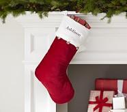 Jingle Bells Luxe Velvet Stocking