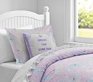 Sabrina Duvet Cover, Twin, Lavender