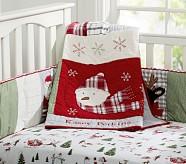 Dear Santa Nursery Quilt