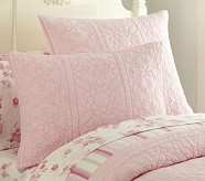 Whitney Standard Quilted Sham, Pink