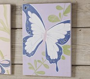 Lavender Butterfly Plaque