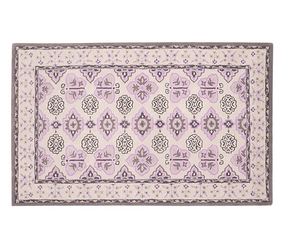 Margaret Coastal Butterfly Rug, 3x5'