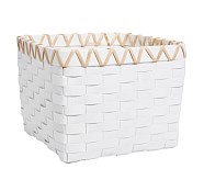 Emory Basket, White