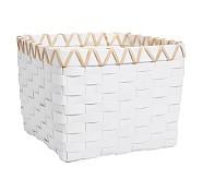 Emory Basket, White
