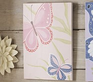 Light Pink Butterfly Plaque
