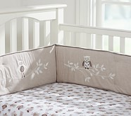 Hadley Chamois Crib Fitted Sheet