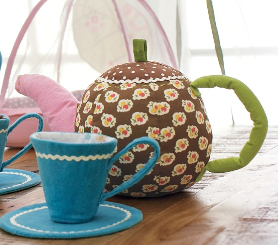 Fabric Tea Pot