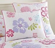 Hibiscus Standard Quilted Sham