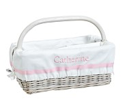 Light Pink Harper Diaper Caddy Liner