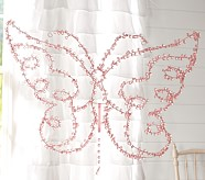 Crystal Hanging Butterflies, Large