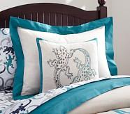 Gecko Linen Decorative Sham