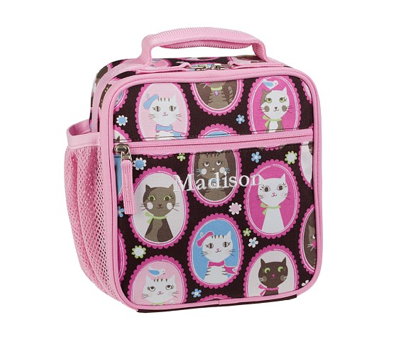 Mackenzie Chocolate Kitty Classic Lunch Bag