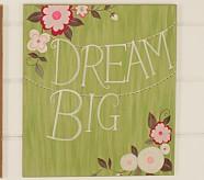 Woodland Plaque, Dream Big