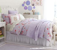 Emma Iron Bed & Juliette Dresser Set, Twin, Vintage Simply White