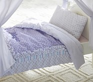 Doll Lavender Floral Bedding