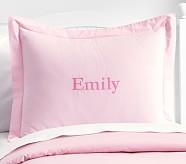Organic Cotton Standard Sham, Pink
