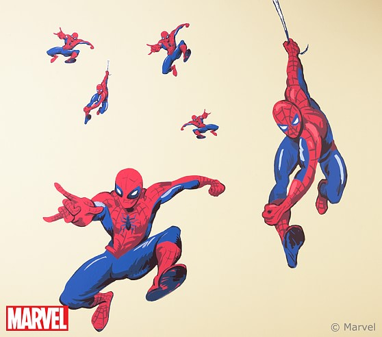 Spider-Man™ Decal, Hanging