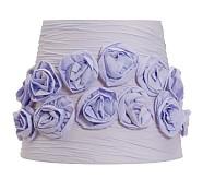 Gathered Rose Shade, Lavender
