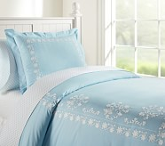 Isabelle Duvet Cover, Twin, Blue