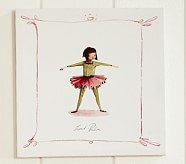 Ballet Positions Canvas, Second Position