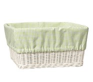 XL Gingham Liner, Green
