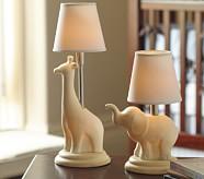 Elephant Ceramic Lamp