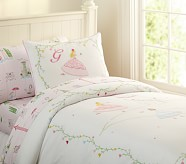Grace Embroidered Duvet Cover, Twin