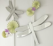 Small Dragonfly Shaped Mirrors