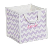 Lavender Harper Chevron Pop Up Tote