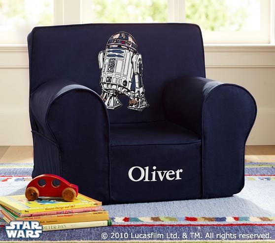 Star Wars R2 D2 Anywhere Chair 174 Pottery Barn Kids