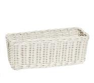 Sabrina Changing Table Basket, Simply White
