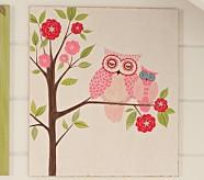 Woodland Plaque, Owl